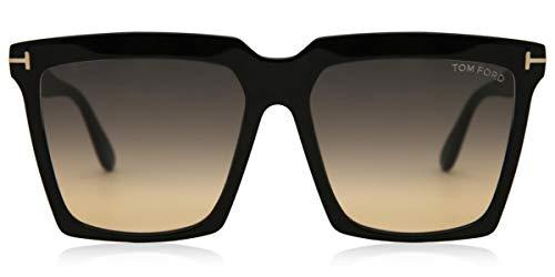 Tom Ford Occhiali da Sole SABRINA-02 FT 0764 BLACK/GREY SHADED 58/16/140 donna