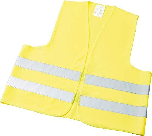Formaat 4330816008980 – waarschuwingsvest. BMW-Mg. één maat. geel