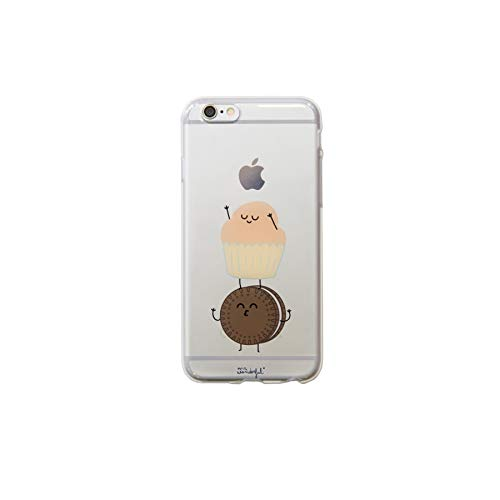 Mr. Wonderful WOA03044 - Carcasa Transparente para iPhone 6, diseño Madalena