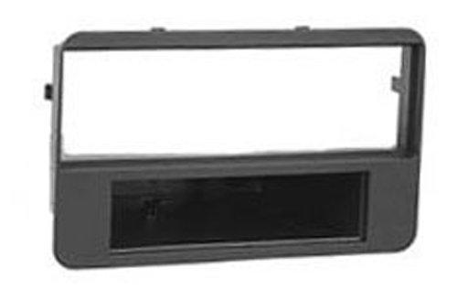 Autoleads FP-09-06 Adaptateur de façade d'autoradio Single DIN pour Alfa 159 Brera Noir