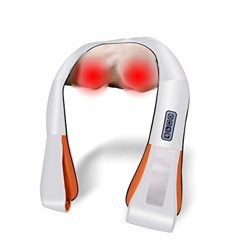 Preisvergleich Produktbild Nacken- Und Rückenmassagegerät Massagegerät Für Schulter Und Nacken 99 Modi 15 Geschwindigkeiten Großflächige Heißkomprimierung 5 Tasteneinstellung 15-minütige Zeitgesteuerte Massage Geeignet