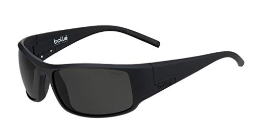 bollé Unisex– Erwachsene King Sonnenbrillen Large, Black Matte