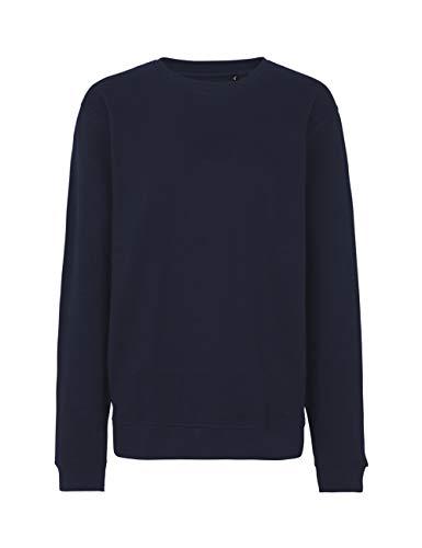 Green Cat Workwear Sweatshirt Unisex, Bio-Baumwolle. Fairtrade, Oeko-Tex und Ecolabel Zertifiziert, Textilfarbe: Navy, Gr.: 3XL