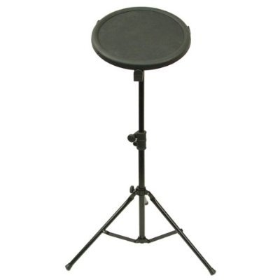 """Hisonic Signature Series LXG-20 10"""" Drum Practice Pad with Stand & Sticks"""