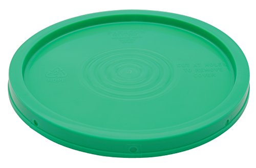 Buy Cheap Vestil LID-54-PG Green Lid for 3.5, 5 and 6 gal Pails 12-1/2 Overall Diameter