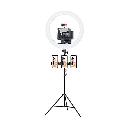 JuZi Store Telepromptores for Youtube Tiktok Facebook Video en Vivo Smartphone Tablet DSLR Kit de teleprompter de cámara, entrevista de Video pequeña Fuera de filmación teleprompter (Color : I)