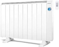 Orbegozo RRE 510 - Emisor térmico (500 W, 3 elementos, sin aceite, termostato regulable), blanco