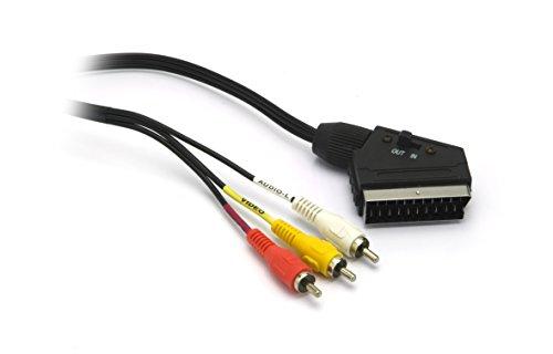 G&BL - Cable (euroconector, RCA de vídeo y 2 RCA de audio)