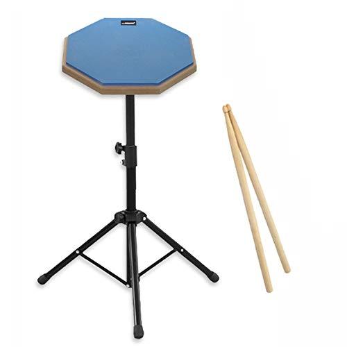 Felimoa ドラム練習用パッド トレーニング用パッド スティック 収納袋付属 (ブルー)