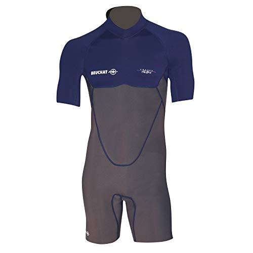 Atoll - Beuchat para Hombre, 2 mm, con Cremallera, antirayos UV, Corte anatómico y Neopreno, ultrasuave y cómodo, XXXL