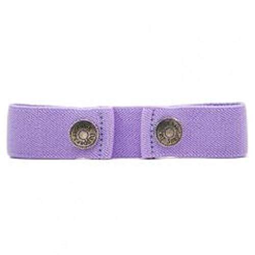 Dapper Snapper Made in USA Baby & Toddler Adjustable Belt-Lavender
