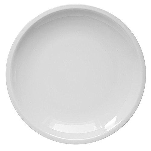 Service de 6 assiettes en porcelaine blanche série Rome Saturnia Piatto Frutta D.19cm