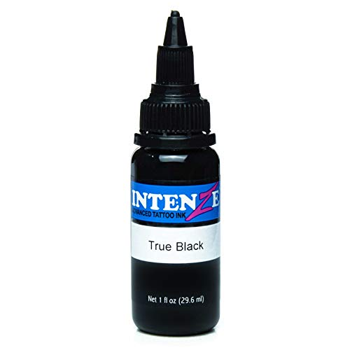 Intenze True Black Tattoo Ink 1oz