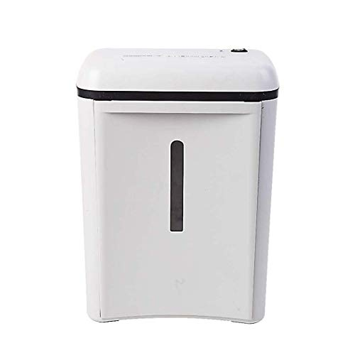 New HIZLJJ 6-Sheet Cross-Cut Paper/Credit Card Shredder Level 4 Confidential Continuous Working time...