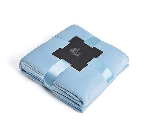 CRXL Shop elektrische deken van microvezel, 100% polyestervezel, zacht en wollig, voor volwassenen en kinderen, warm en dik, voor de televisie of voor stoel, bank en bed