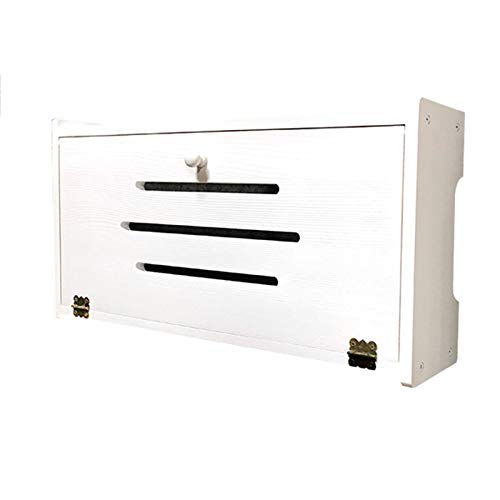 Cajas De Almacenamiento para Router WiFi Router Rack WiFi Router Storage Box...