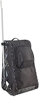 Grit Inc. Flex Hockey Tower Medium Equipment Bag 33-Inch, Black FLX1-033-B