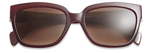 HAVE A LOOK Mood Sonnenbrille mit Sehstärke Kunststoff rot Sunglasses (+2,00)