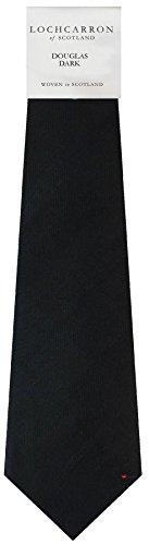 I Luv Ltd Gents Neck Tie Dark Douglas Tartan Lightweight Scottish Clan Tie