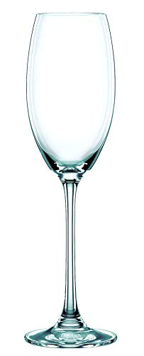Spiegelau & Nachtmann, 4-teiliges Champagnerkelch-Set, Kristallglas, 272 ml, Vivendi, 0085695-0