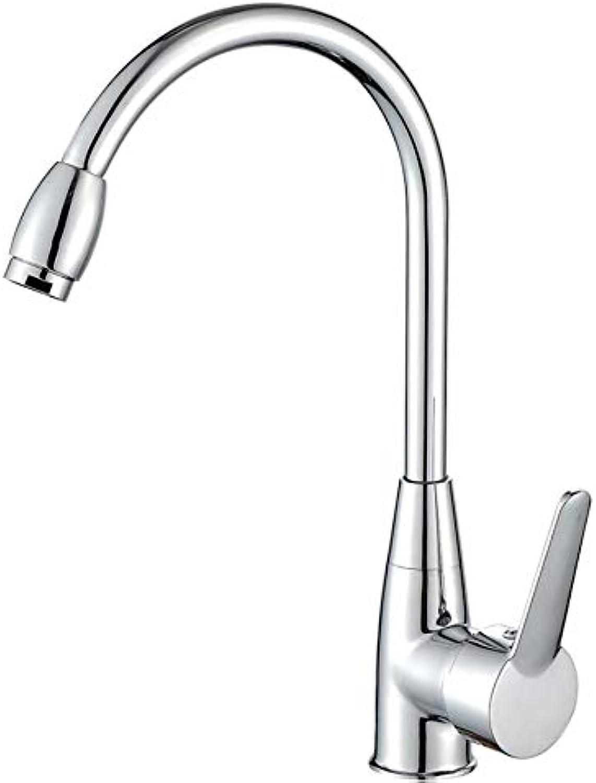 Kitchen Faucet Kitchen Single Hole Sink Faucet All Copper Faucet, redating Faucet,