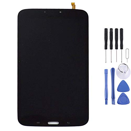 DAIQIPA Smartphone disassembly LCD Screen and Digitizer Full Assembly, Suitable for Galaxy Tab 3 8.0 / T310 (Color : Black)