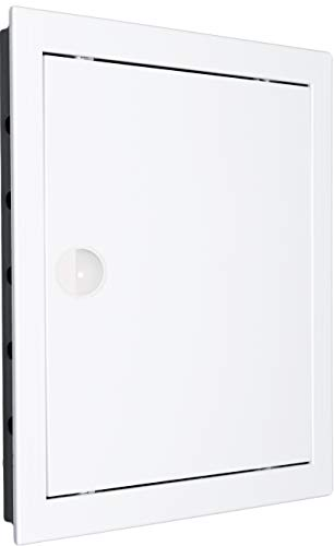Revisionstür Revisionsklappe Revision. Hochwertig ABS-Kunststoff weiß. Größen wählbar. (25x25 - AD25/25)