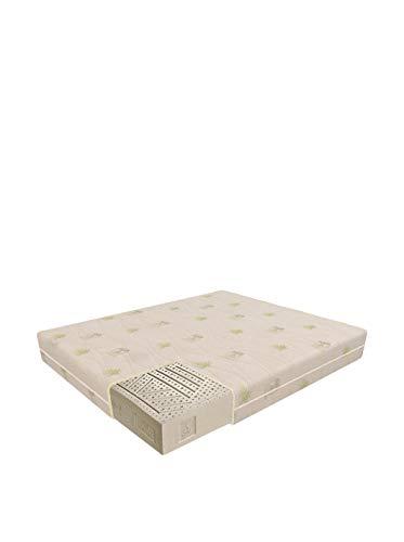 Sanidorm Ankaa - Colchón de látex (80 x 190 x 20cm), Color Blanco