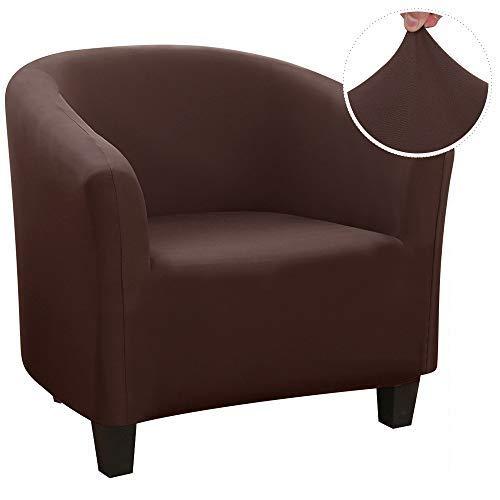 papasgix Sesselschoner Sesselüberwurf Sesselhusse Sesselbezug Jacquard Elastisch Stretch Sofahusse Husse für Clubsessel Loungesessel Cocktailsessel