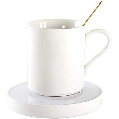 TTHU Cup Warmer Pad USB Coffee Mug Warmer Coaster Electric Cup Heater Milk Tea Beverage Heating Plate for Office Home