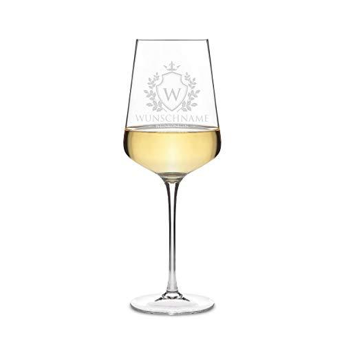 Leonardo Weißweinglas 560 ml Weinglas mit individueller Gravur als Geschenk für Frauen - Weinkönigin