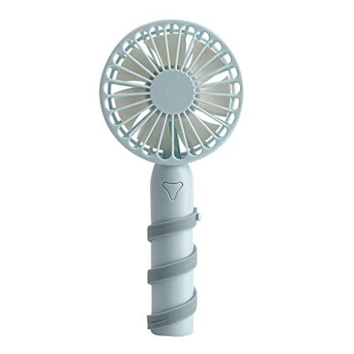 Celiy Portable Fan USB Mini Electric Fan Quiet Operation Fan 3-Speed Wind Adjustable Home & Garden Fans