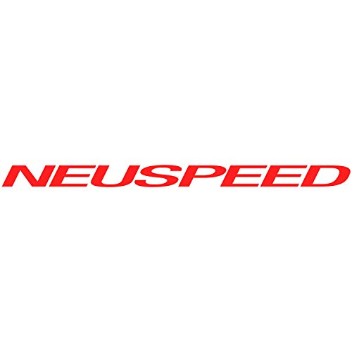 Diuangfoong Pegatina de vinilo con logotipo de Neuspeed para ventana de coche, adhesivo de rendimiento, llantas de 474# 8 pulgadas