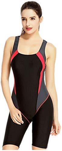 Vrouwen Zwembroek Sports Long Swimsuit Premium Neopreen-Full Wetsuit Geschikt Om Te Zwemmen Waden Sports Spa (Size : M)