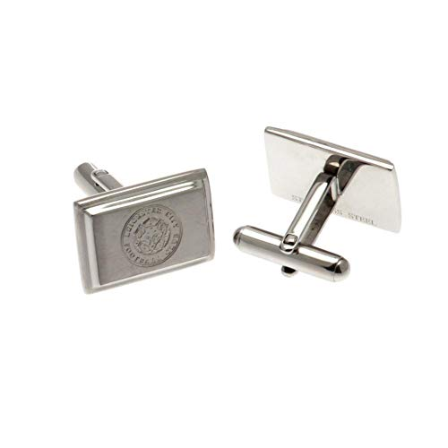LEICESTER CITY F.C. Stainless Steel Cufflinks Merchandise Ufficiale
