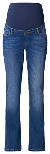 ESPRIT Maternity Umstandsjeans Damen Boot-Cut / Flared-Leg Umstands Jeans U8C010
