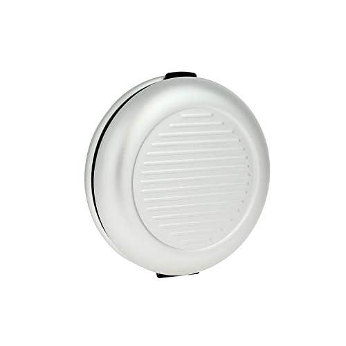 ÖGON Smart Wallets - Distributore Di Monete - Protezione RFID: Protegge Le Tue Carte Contro Le Frodi - Alluminio Anodizzato (Silver)
