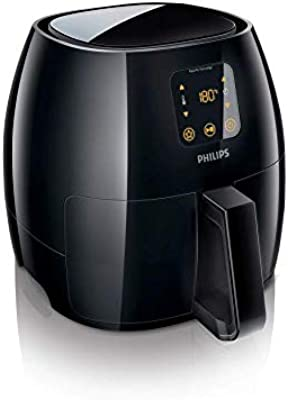 Philips Avance XL Digital Airfryer (2.65lb/3.5qt), Black - HD9241/94CO
