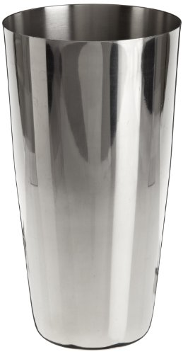 """Adcraft BS-30 Mirror Finish, Stainless Steel Full Size Bar Shaker, 30 oz. Capacity, 7"""" Height"""