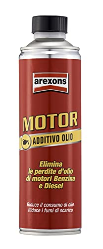 AREXONS 9665, 500 ml, Additivo Pulitore e Protettivo, Adatto Gasolio e Benzina, Migliora le Prestazioni del Motore, Elimina le Perdite d Olio, Riduce i Consumi, Plastica