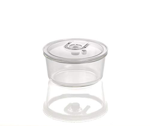CASO VacuBoxx RXL - r& 1700ml - hochwertiger Design Vakuumbehälter, BPA-Frei, mikrowellengeeignet, hitzewiderstandsfähig, spülmaschinengeeignet