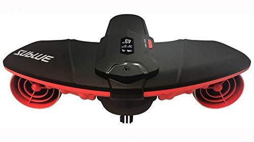 SEABOW Unterwasser Elektrisch Professionell Scooter Tiefe 40 m Sublue Bedienung 45 min Diving Tauchen Strand Sommer Urlaub Meer Freestyle Erwachsener Rot 845223