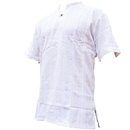 Fisherman Shirt BEN,white, XXL, shortsleeve