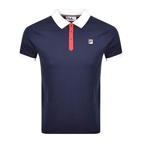 Fila Vintage BB1 Polo Shirt - Navy