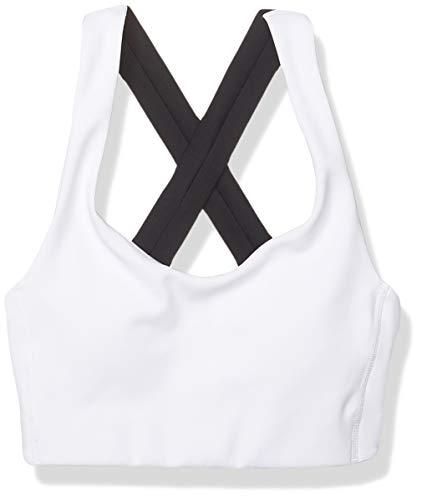 New Balance Damen WB01044 Sport-BH, Blanco, XL