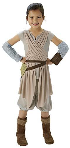 costume carnevale yoda Rubie's IT620263 - Star Wars - Rey Deluxe Costume per bambine