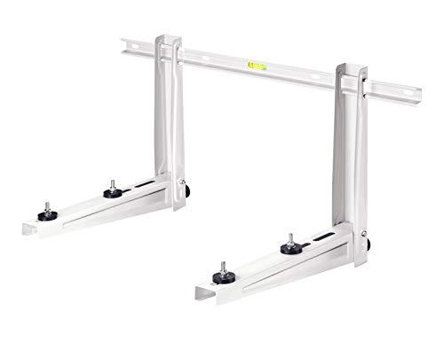 Michl Technik MTMS230 Wandkonsole Halterung Wärmepumpe, Klimagerät, Klimaanlage 120 kg, Weiß