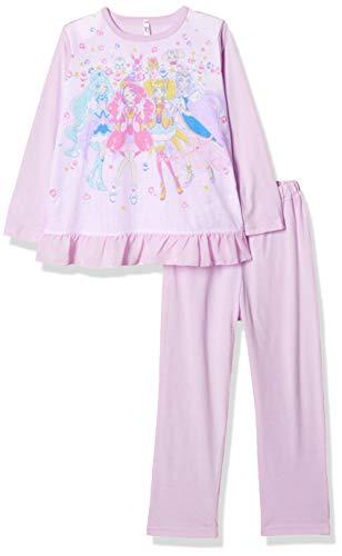 [バンダイ] パジャマ上下 ヒーリングっと プリキュア 玩具付きパジャマ 522 2535341 ガールズ パープル 日本 130cm (日本サイズ130 相当)