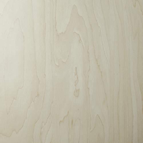 Klebefolie Ahorn Holzoptikfolie, Dekofolie, Möbelfolie, Tapete, selbstklebende Folie, PVC, ohne Phthalate, 45cm x 1,5m, Stärke 0,095mm, Venilia 53403