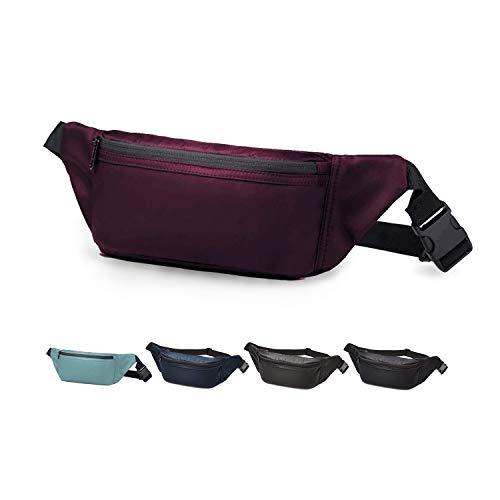 Wind Took Gürteltasche Bauchtasche Hüfttasche Brusttasche Handytasche Sporttasche für Alltag Reise Wanderung Outdoor Freizeit Damen und Herren,Lila